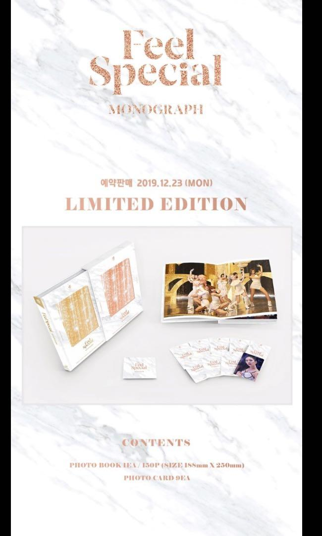 MY GO 🇲🇾 Twice Feel Special monograph LIMITED EDITION
