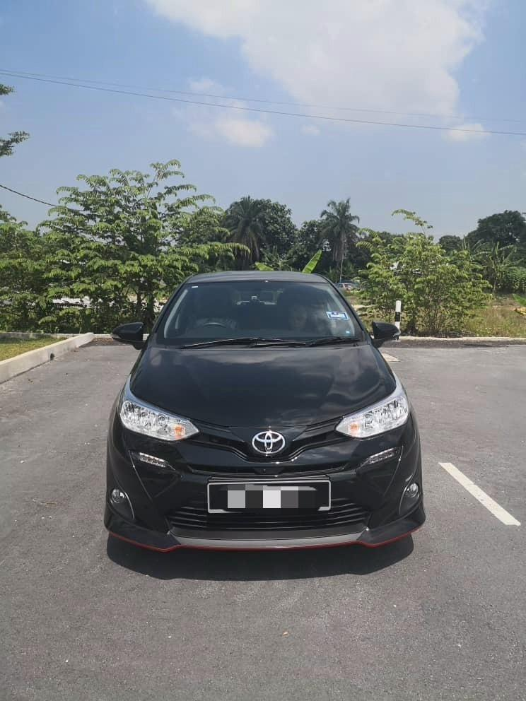 New 2019 Toyota Vios 1.5 (A) kereta sewa selangor kl