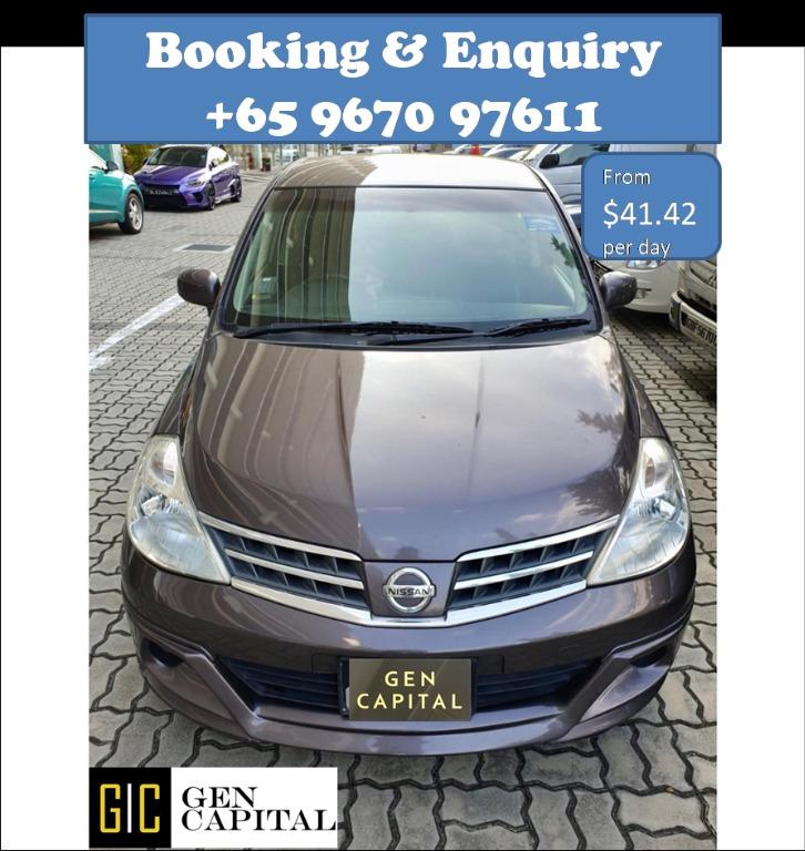 Nissan Latio @ Best rates, full servicing provided!