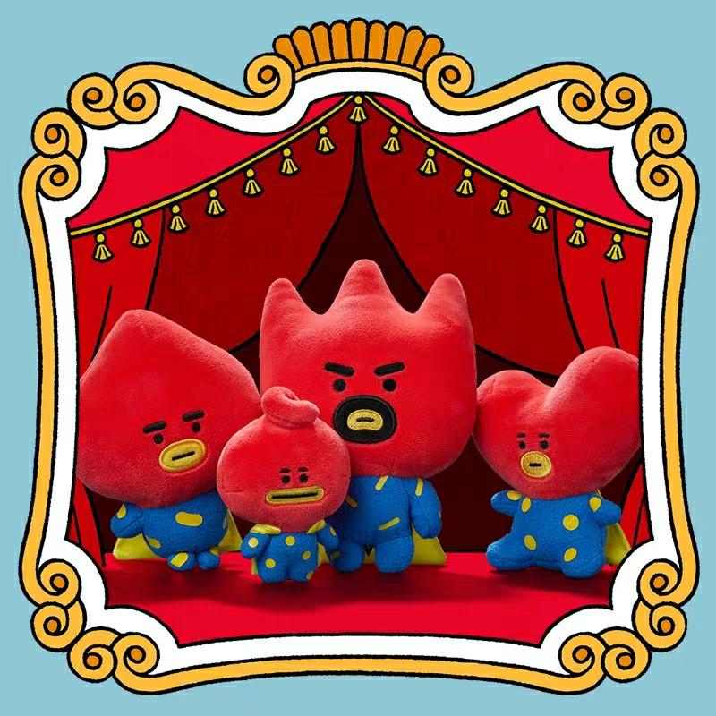 【Pre-order item】 > BT21 UNIVERSE TATA Official Authentic Stand Doll Family Set LINE FRIENDS