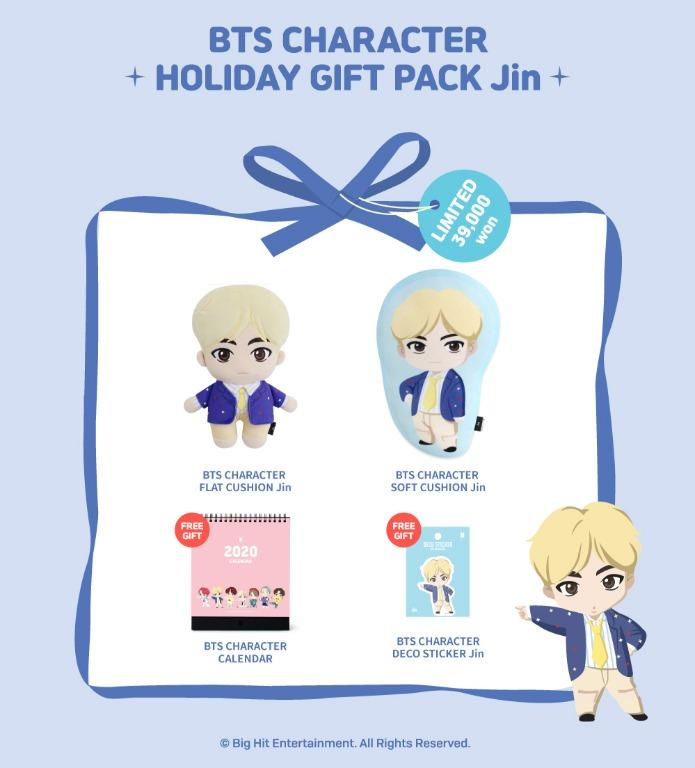 [PREORDER] OFFICIAL BTS CHARACTER HOLIDAY GIFT PACK (OPEN UNTIL 26TH DEC ONLY)
