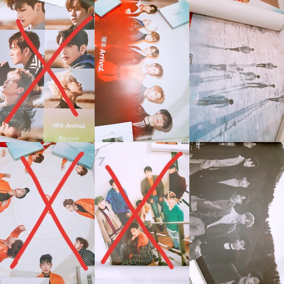[RM27 for 8pcs]GOT7 JJproject Official poster