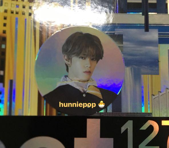 [SALE] NCT127 We Are Superhuman - Yuta circle card