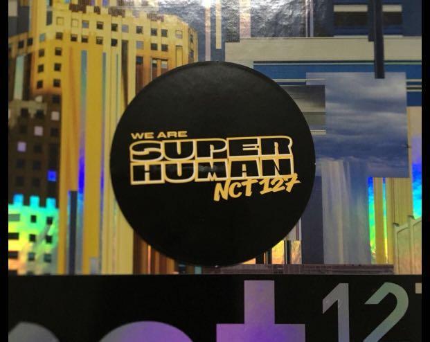 [SALE] NCT127 We Are Superhuman - Yuta circle card