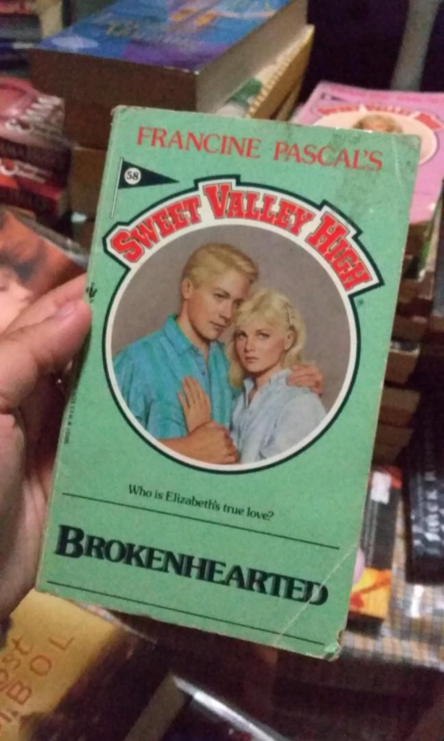 Sweet Valley High (SVH) #58 - Brokenhearted by Francine Pascal