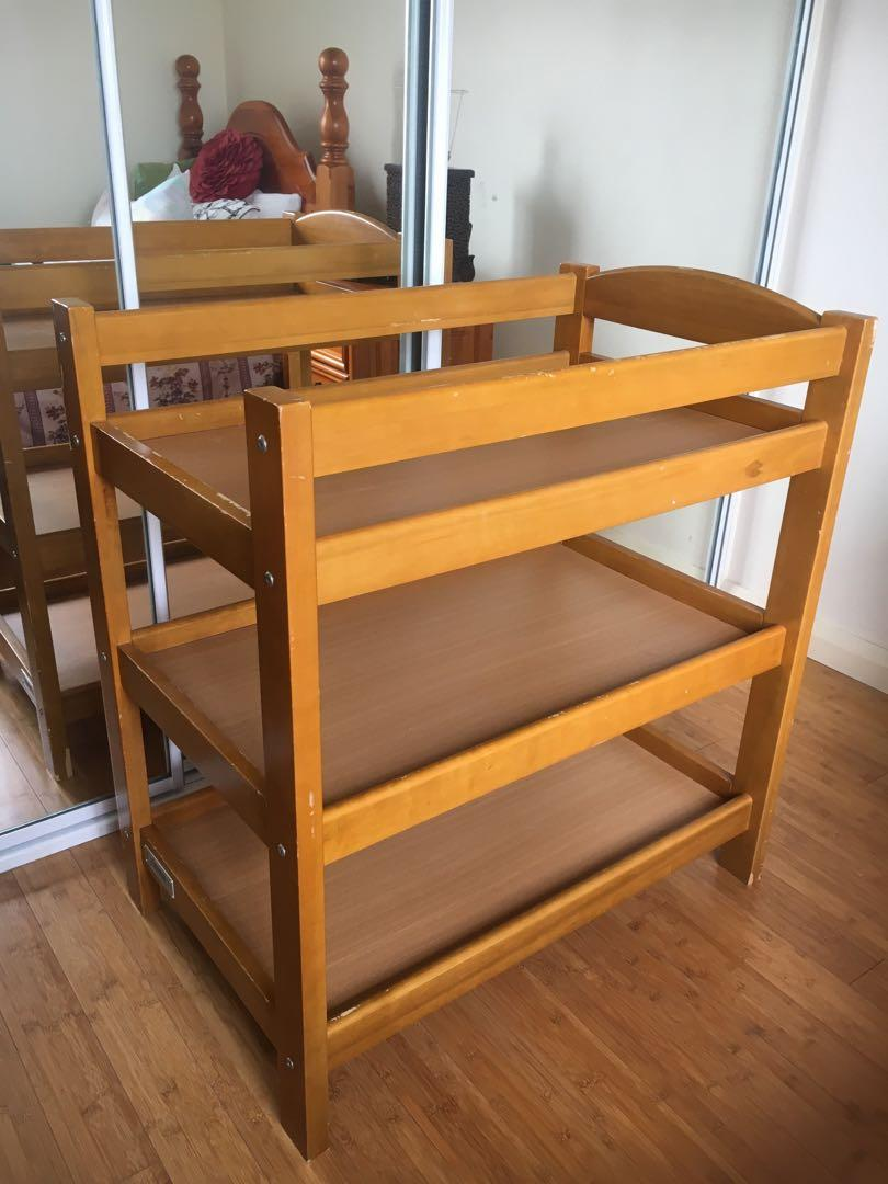 Tasman Eco Furniture Baby Change Table and Shelves