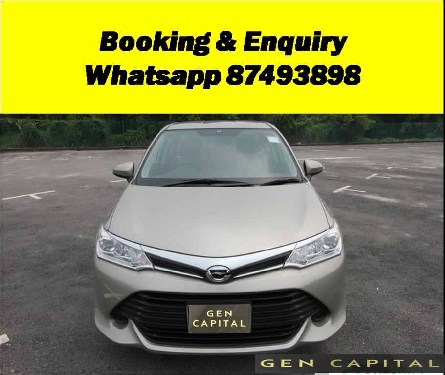 Toyota Axio 100% No hidden fees & charges. Early CNY Promo Whatsapp @87493898 now!!