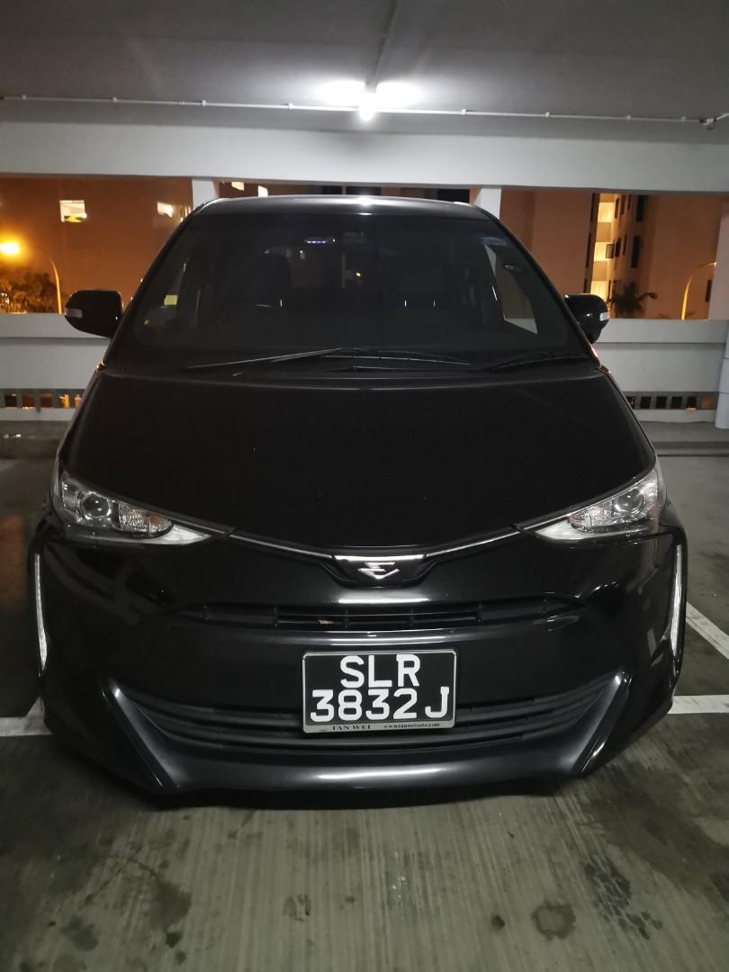 Toyota estima 2017 face-lift!