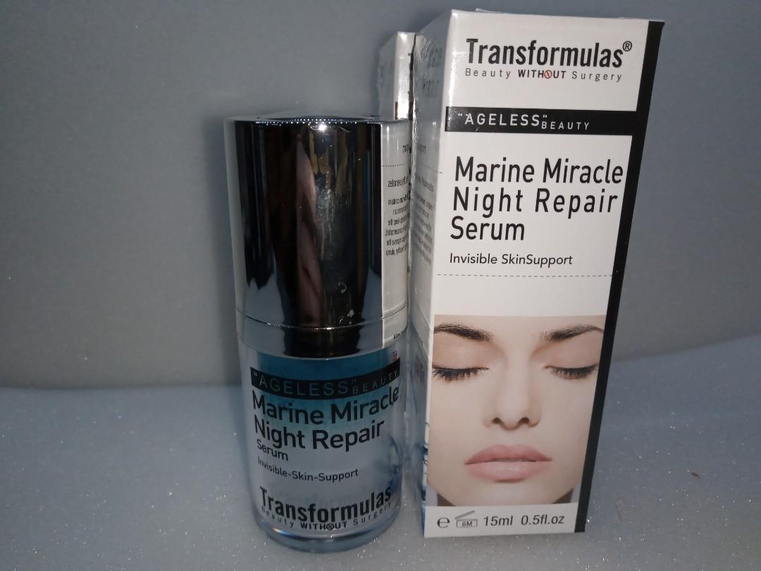 Transformulas - Marine miracle night repair serum 15ml