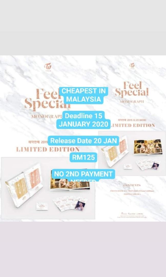 TWICE - FEEL SPECIAL MONOGRAPH ( LIMITED EDITION )