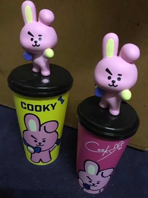 [CLEARANCE SALE READY STOCK] BT21 BTS MBO TUMBLER TOPPER CUP (REGULAR + LIMITED EDITION)