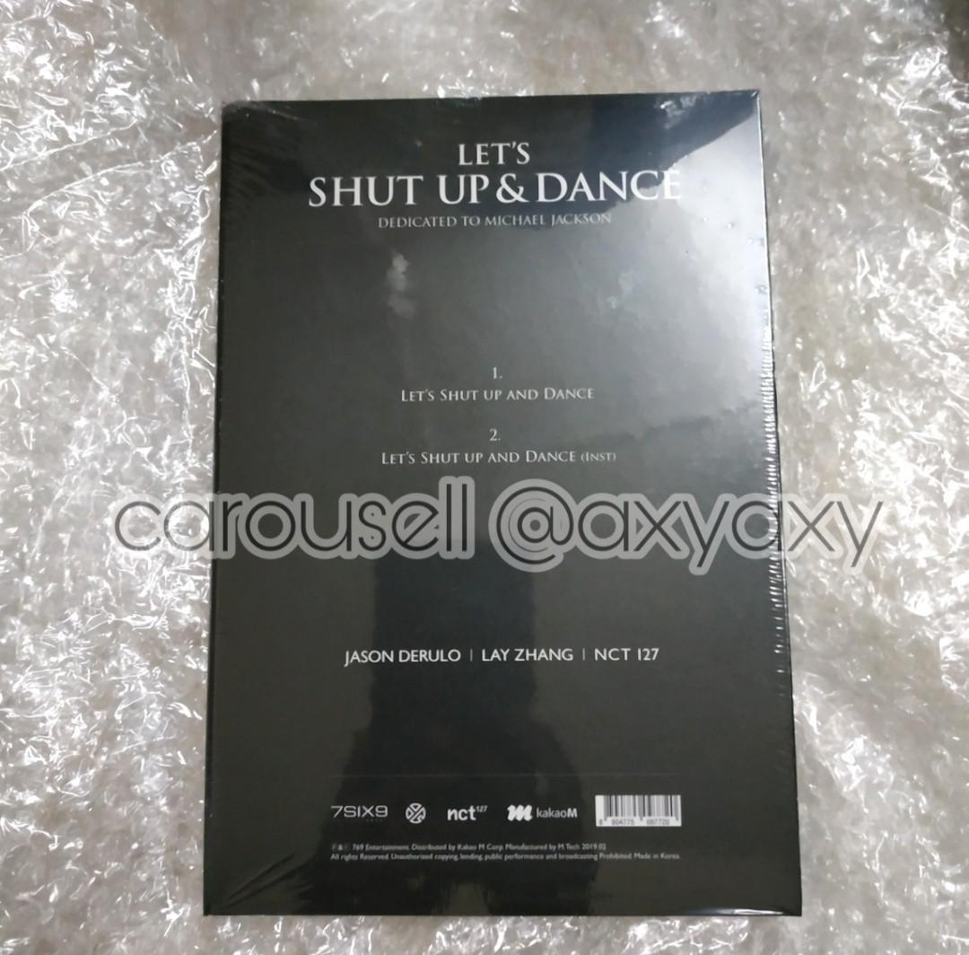 [WTS] NCT 127 EXO Lay Jason Derulo Let's Shut Up & Dance album