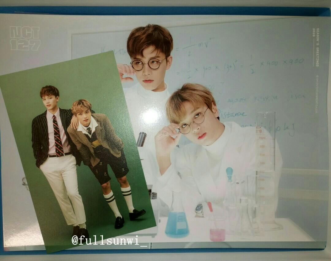 [WTS] NCT 127 SEASON GREETINGS 2020 LOOSE HAECHAN TAEIL
