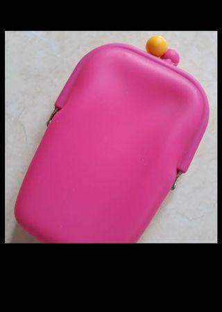 Dompet pouch wanita (bahan silikon)