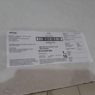 Testi ⚡ thank you ...Mr ..for shopping with us⚡tgl 16-10-2019 (rabu) pengiriman jawa timur