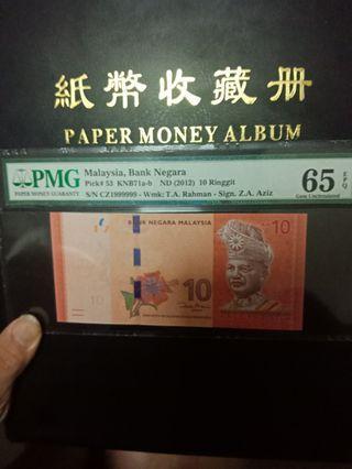 malaysia Rm10/1999999