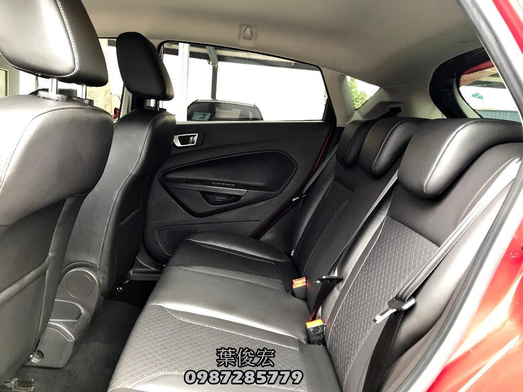 福特原廠認證中古車2017年Ford Fiesta 1.5s汽油五門運動頂級款 安全掀背車 原廠認證新車保固中