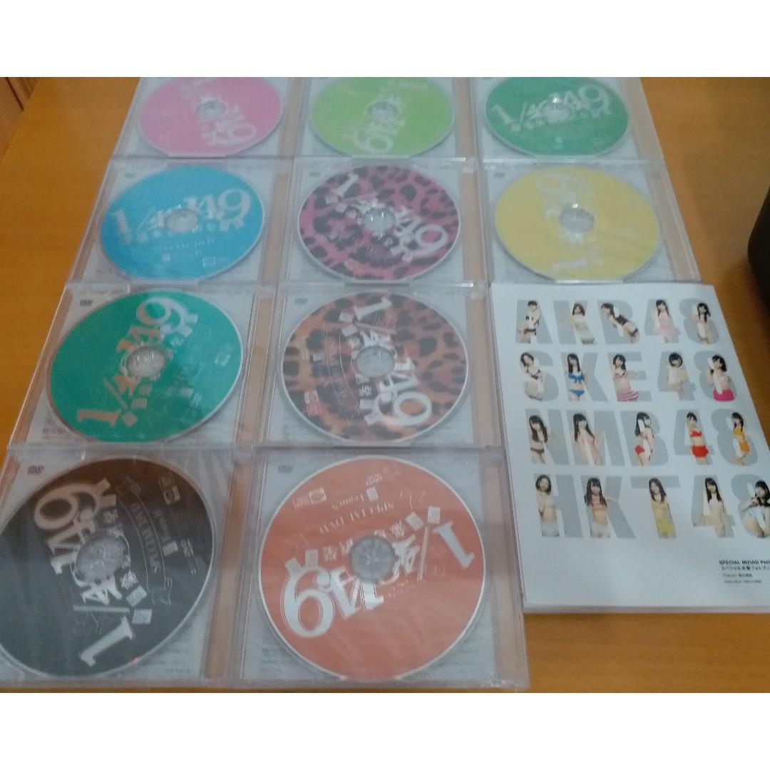 放售 AKB48 SKE48 NMB48 HKT48 全新未開封製作影像 10 隻 Dvd And 水着泳衣相簿@AKB 48 1/149戀愛總選舉超豪華