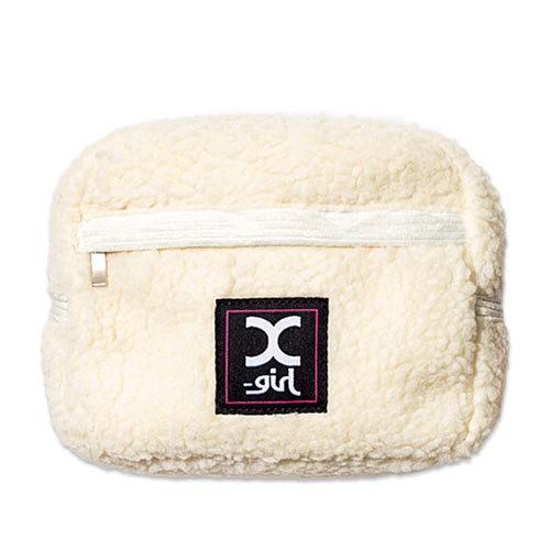 日本雜誌袋 mini(ミニ)2020年2月号《特別付録》X-girl  收納袋 化妝袋