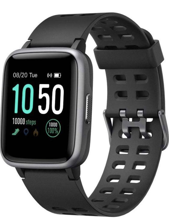 🎉BNIB🎉 Smart Watch for Android and iOS Phone 2019 Version IP68 Waterproof,YAMAY Fitness Tracker Watch with Pedometer Heart Rate Monitor Sleep Tracker,Smartwatch Compatible with iPhone Samsung