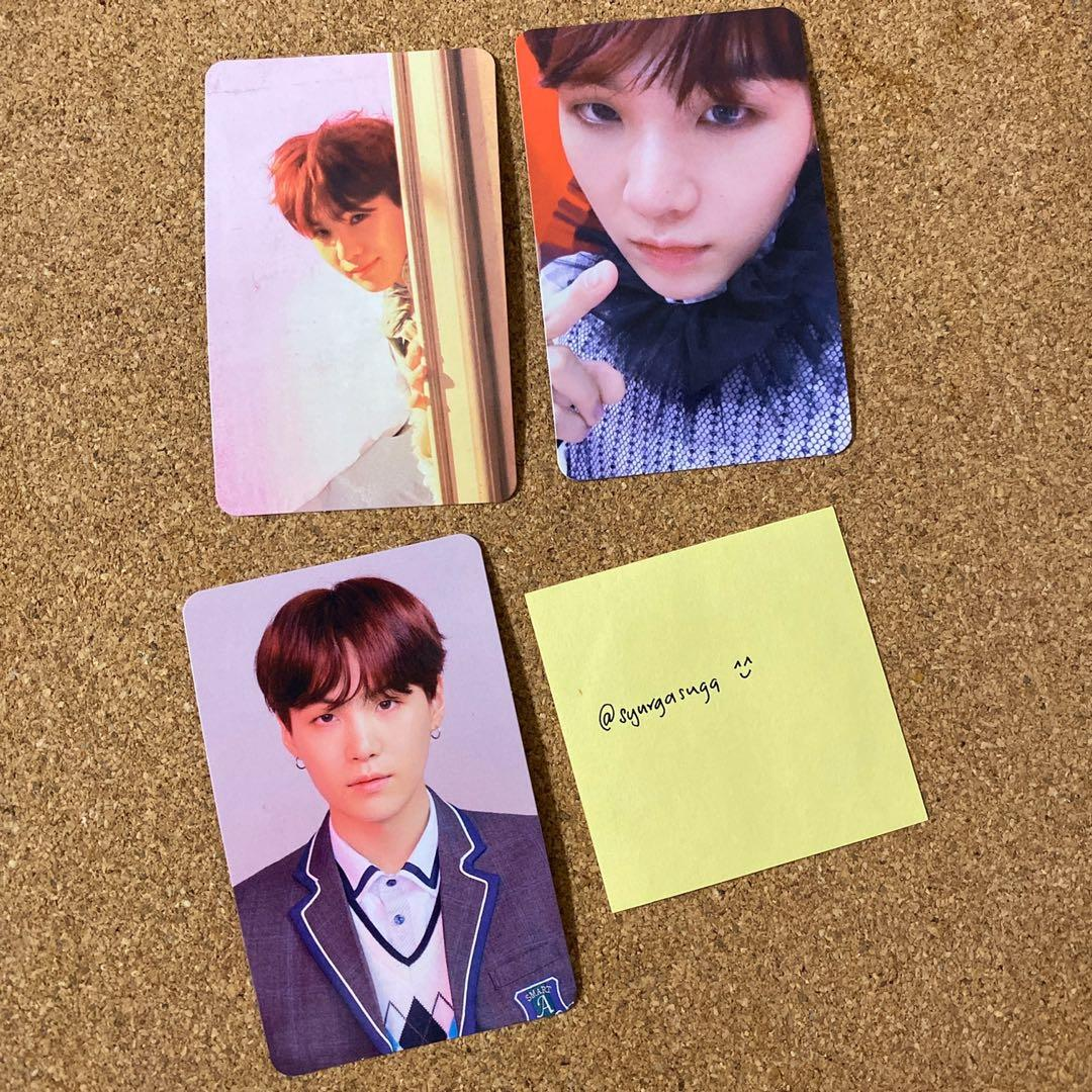 BTS LOVE YOURSELF: Answer Official Photocard - Suga