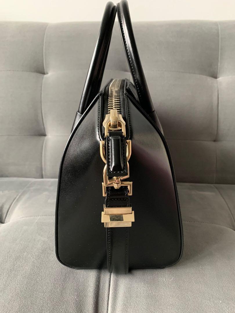 Givenchy Antigona Small - smooth calf, light gold HW