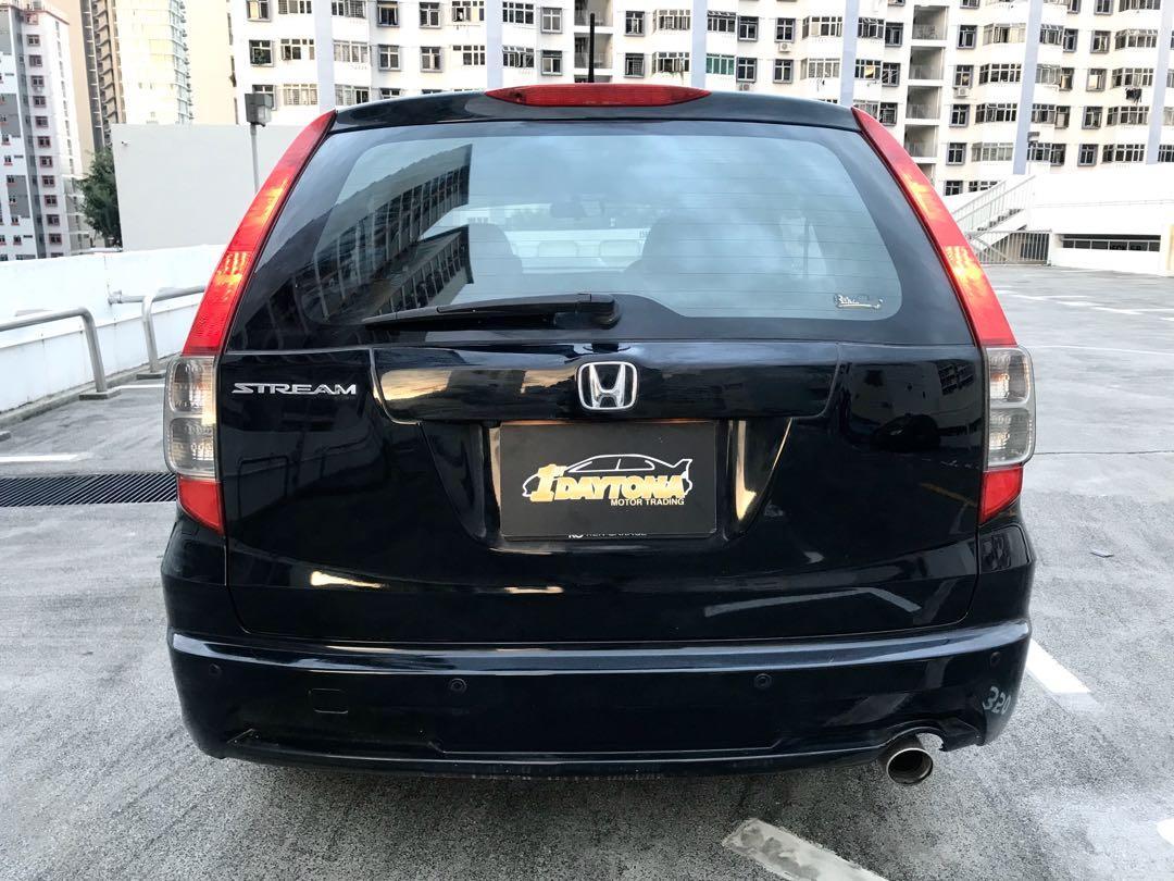 Honda Stream 1.8A New 5year Coe  Auto