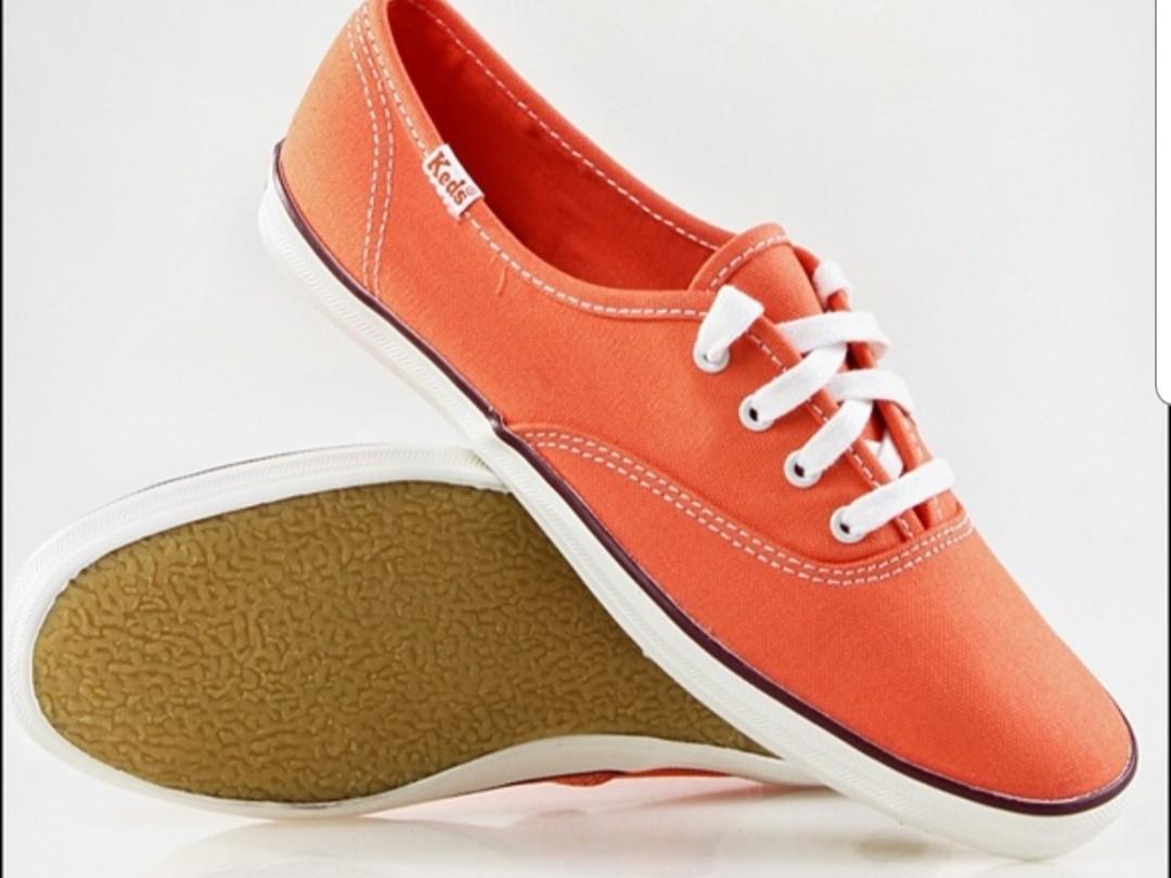 Keds Canvas Shoes Orange colour, Women