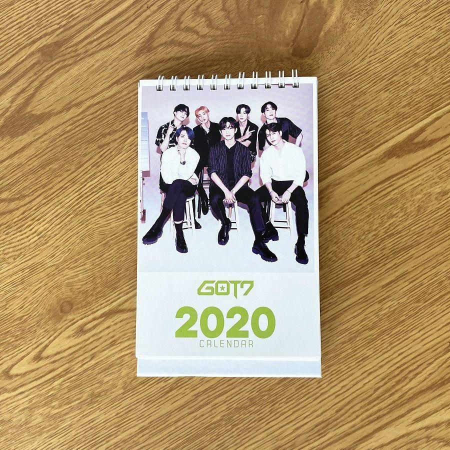 Kpop Calendar 2020 (GOT7,TWICE,BLACKPINK,SEVENTEEN)