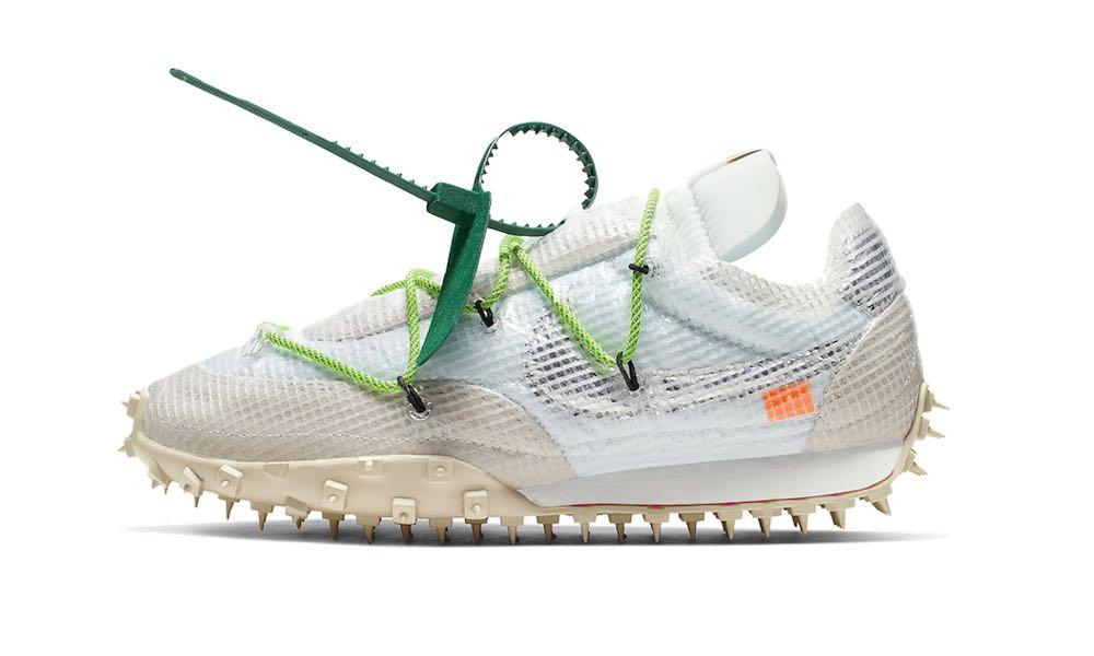 Aparte Escabullirse Doméstico  Limited Edition Nike Waffle Racer Off-White, Men's Fashion, Footwear,  Sneakers on Carousell