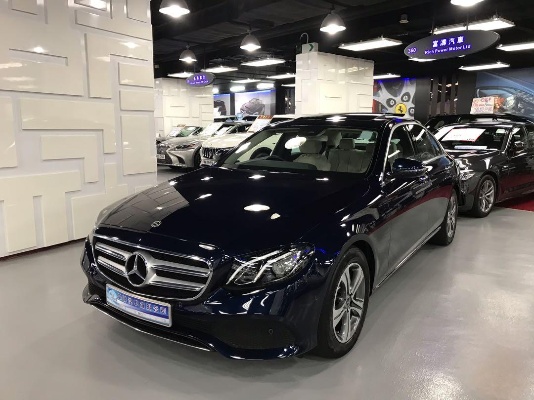 MERCEDES-BENZ E200 AVANTGARDE 2018