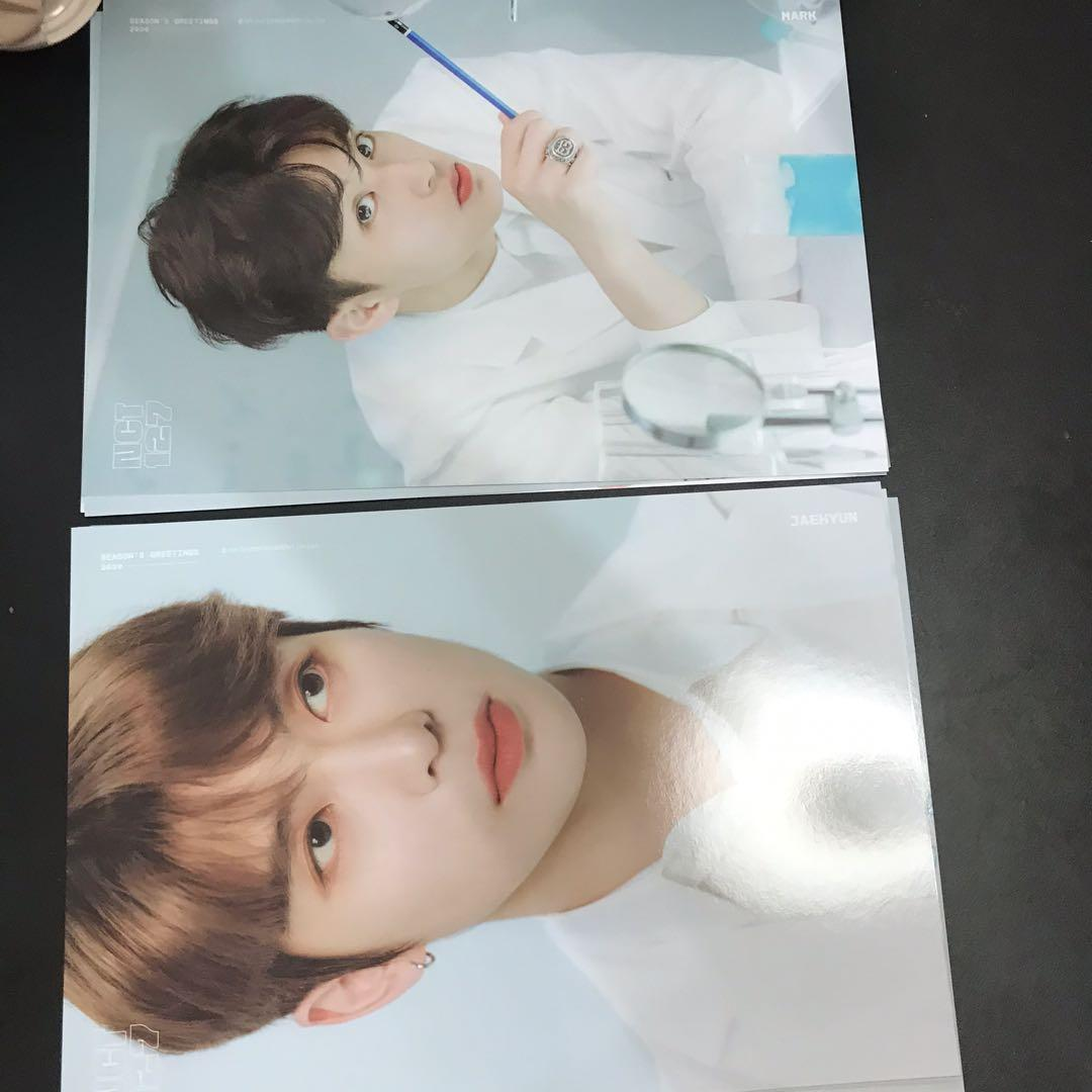 NCT127 10pcs A4 POSTER CARDS FROM SEASONS GREETINGS 2020
