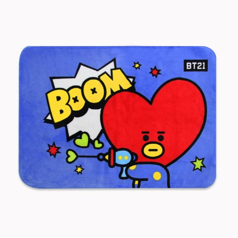 [PREORDER] BTS BT21 OFFICIAL FLANNEL FLEECE BLANKET