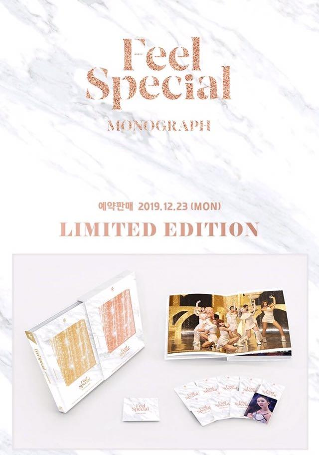 [Pre-Order] TWICE - MONOGRAPH Feel Special (Limited Edition) Photobook