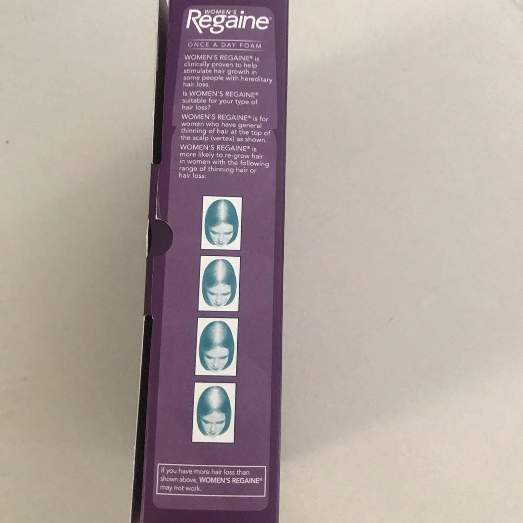 Regaine Women's Once A Day Foam Extra Strength Hair growth treatment