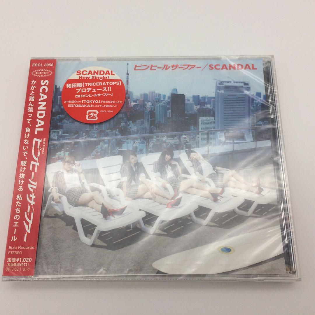 清貨蝕讓 Scandal ピンヒールサーファー CD 日本版 Pin Heel Surfer