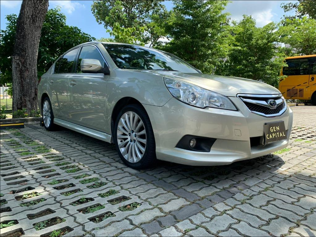 Subaru Legacy 2.0A Special Christmas Promo Pm or whatsapp @85884811 now! Just $500 Deposit to Driveaway Immediately!*