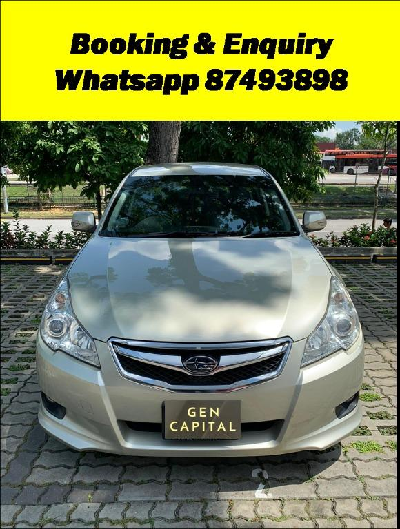 Subaru Legacy 2.0A Special Christmas Promo Pm or whatsapp @87493898 now! Just Deposit $500 Driveaway Immediately!*