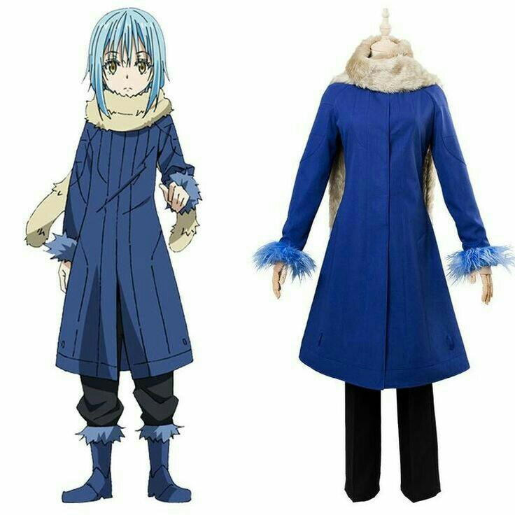 Tensei Shirata Slime Datta Ken 'Rimuru Tempest costume'