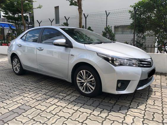 Toyota Altis For Rent ! Gojek | Grab | Ryde | Tada | Personal