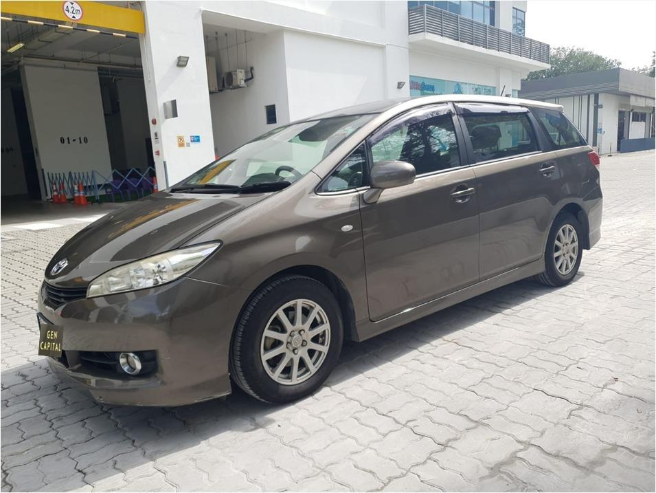 Toyota Wish 1.8A Special Christmas Promo Pm or whatsapp @85884811 now! Just $500 Deposit to Driveaway Immediately!*