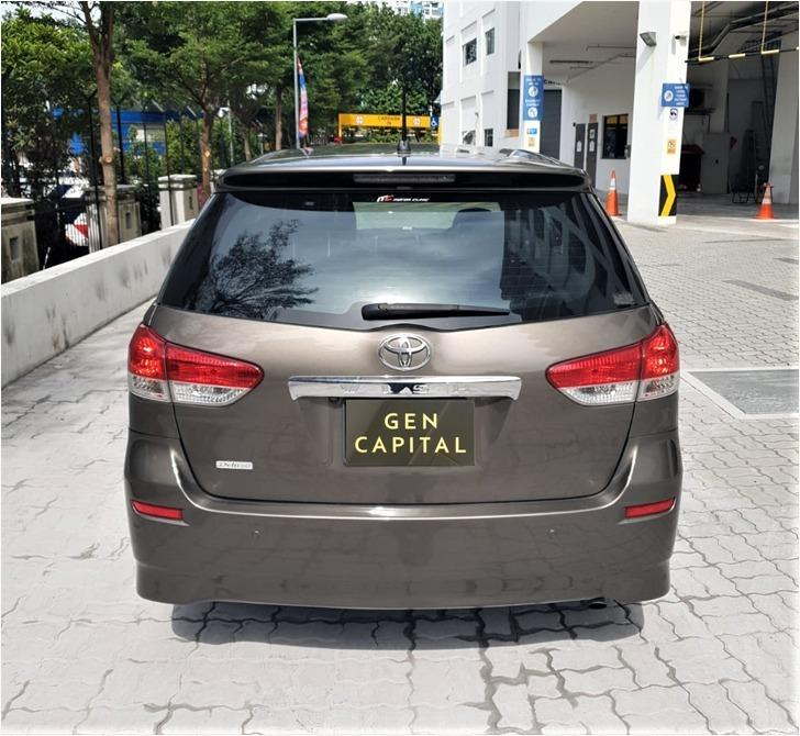 Toyota Wish 1.8A Special Christmas Promo Pm or whatsapp @87493898 now! Just Deposit $500 Driveaway Immediately!*