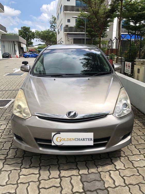 Toyota Wish For Rent! Gojek   Grab   Ryde   Tada   Personal