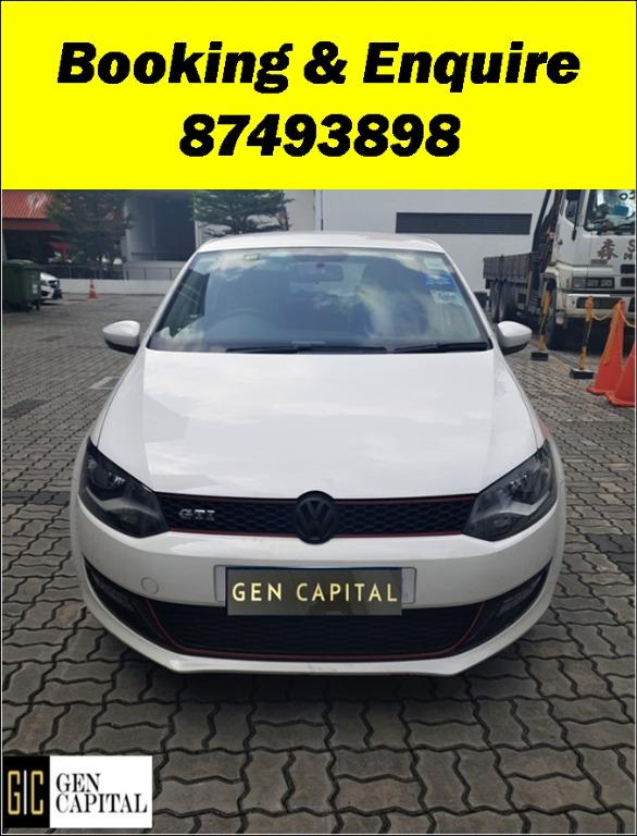 Volkswagen Polo Special Christmas Promo Pm or whatsapp @87493898 now! Just Deposit $500 Driveaway Immediately!*