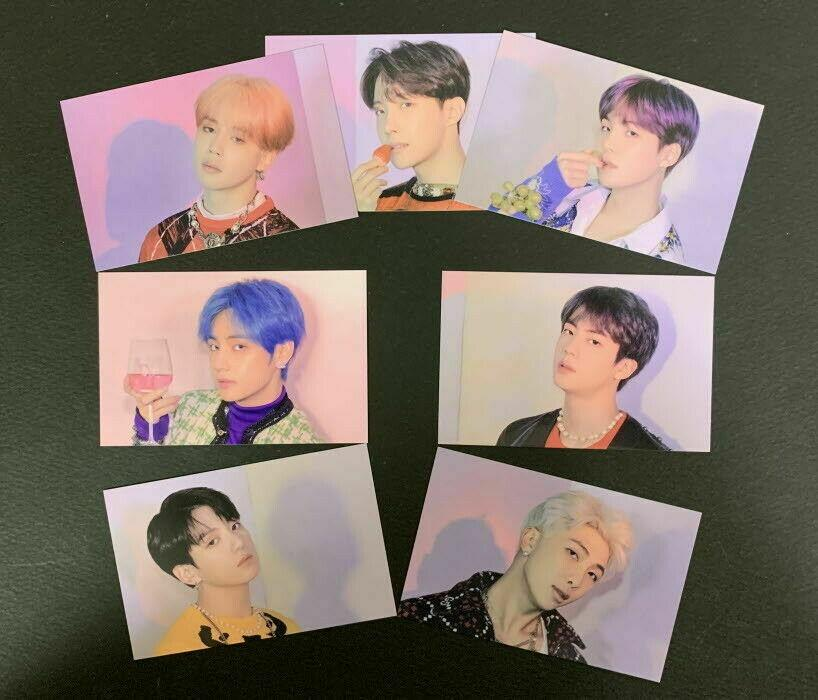 Welcome Freebies Kit, Postcard, Bingo event Photocard - House of BTS Pop Up Store