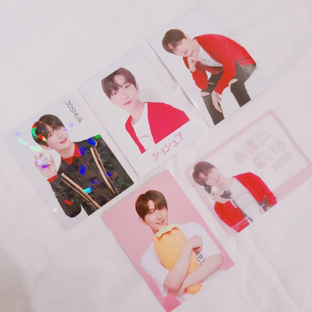 【WTS】SEVENTEEN JOSHUA IDEAL CUT IN JAPAN TRADING CARD SET