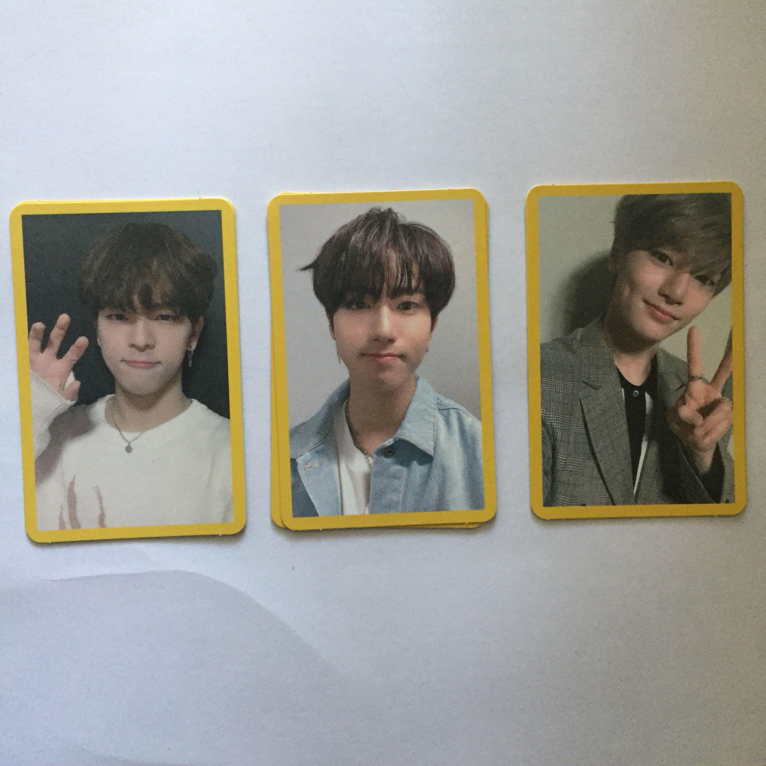 [WTS] Stray Kids - Clé 2: Yellow Wood Yellow Border Photocards