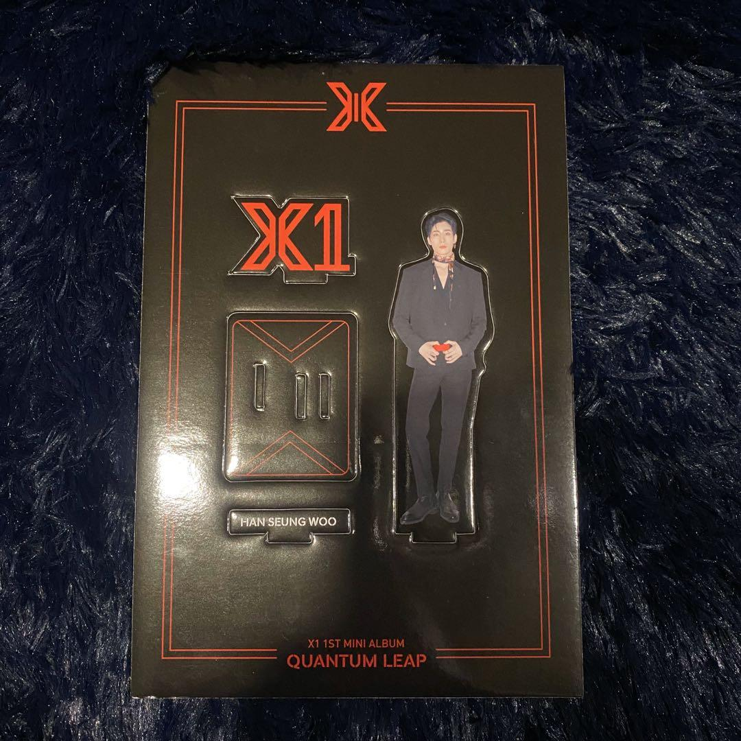X1 1st Mini Album - Han Seung Woo Standee - Quantum Leap Version