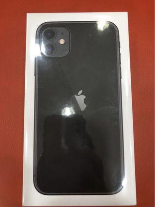 全新未拆 iPhone 11 64G 黑色 高雄面交 6.1吋