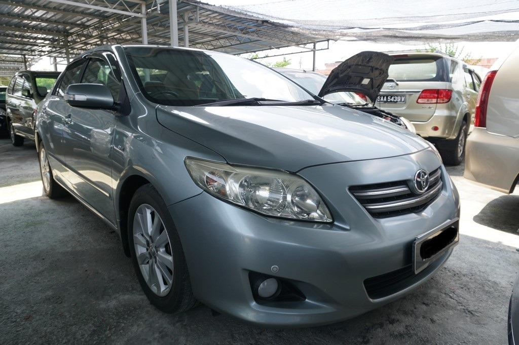 2010 Toyota COROLLA 1.8 ALTIS E FACELIFT (A) 1 OWNER  http://wasap.my/601110315793/Altis2010